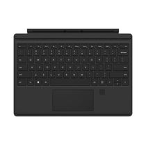 Microsoft Surface Pro 4 Type Cover, Onyx with Fingerprint Reader