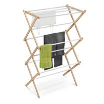 Honey-Can-Do Wood Accordion Drying Rack