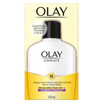 Olay Complete All Day Moisturizer SPF 15 Oil-Free Lotion, Combination/Oily