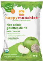 Happy Munchies Apple Organic Rice Cake 40 g
