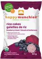 Happy Munchies Blueberry & Beet Organic Rice Cake 40 g