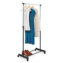 Honey-Can-Do Adjustable Height Garment Rack