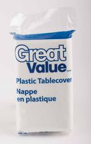 Great Value Plastic Table Cover