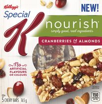 Kellogg's Special K Nourish Cranberries & Almond Chewy Bars