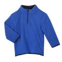 Athletic Works Boys' Popover Fleece Sweater Blue M/M