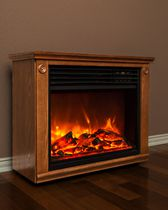 LifeSmart Lifepro Series Compact Infrared Heater/Fireplace