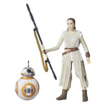 Star Wars The Black Series 6-Inch Rey (Jakku) and BB-8 Figure