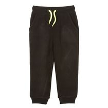 Pantalon de jogging Athletic Works pour garçons en molleton Noir 6