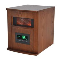 LifeSmart 1500w Lifepro Series Traditional Infrared Heater - Large Room - LS-1000X-6W-CA