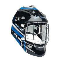 Masque de gardien de but Cobalt de Road Warrior pour hockey de ruelle