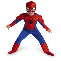Spider-Man Muscle Costume (Boys 3T-4T)