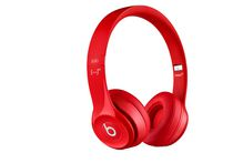 Beats Solo 2 Over-Ear Headphones Red