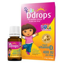 Kids Ddrops® Liquid Vitamin D3 Vitamin Supplement, 400 IU