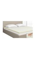 Mainstays 1.5-Inch Fusion Memory Foam<br>Mattress Topper Double