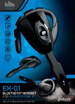 EX-01 Bluetooth Headset for PS3