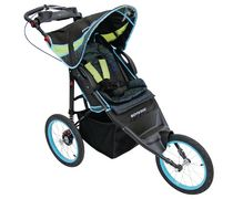 Poussette Jogging Arrow Single Schwinn Black and Blue