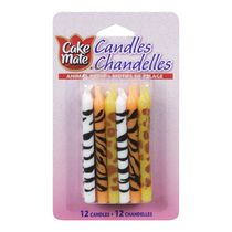 Cake Mate Animal Print Candles