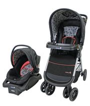 Safety 1st Amble Quad Travel System Black/Pink