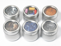 hometrends® Magnetic Storage Tins