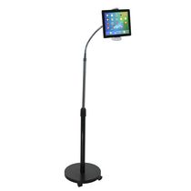 CTA Digital Gooseneck Floor Stand for Tablets