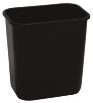 Continental - Waste Receptacle Medium 28 quart Black