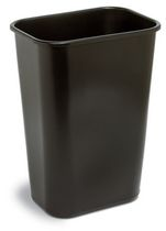 Continental - Waste Receptacle Large 41 quart Black