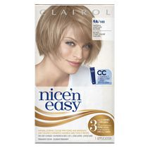 Clairol Nice'n Easy Hair Colour, 1 Kit 9A Light Ash Blonde