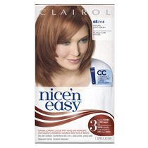 Clairol Nice'n Easy Hair Colour, 1 Kit Light Auburn