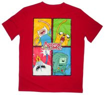 Adventure Time Boy's short sleeve crew neck t-shirt M