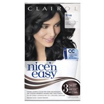 Clairol Nice'n Easy Hair Colour, 1 Kit Black