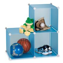 Cubes modulaires de rangement de Honey-Can-Do, 3 paquets