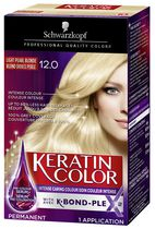 Schwarzkopf Keratin Color Anti-Age Hair Colour 12.0 Light Pearl Blonde
