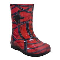 Weather Spirits Toddler Boys' 77 Spider 16 Rain Boots 8