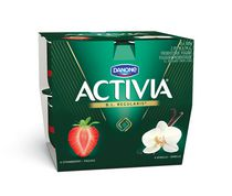 Activia Strawberry/Vanilla Probiotic Yogurt
