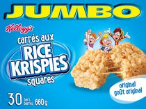 Kelloggs Rice Krispies Squares Cereal Bars, Jumbo
