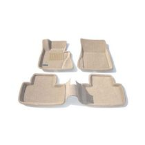 Findway 3D Floor Mats for BMW X3 2004-2010 (09050BG) - Beige