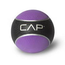 Cap Barbell Rubber Medicine Ball, 4 lbs