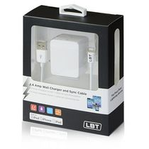 LBT 120 - MFI 2.4 AMP Home Charger with a Detach Lightning Cable