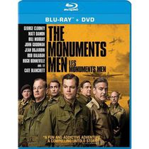Les Monuments Men (Blu-ray + DVD + Digital HD) (Bilingue)
