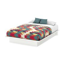 South Shore SoHo 54-inch Full Platform Bed White