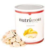 Nutristore Freeze Dried Bananas, 480 g