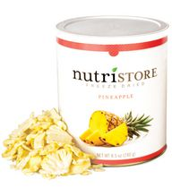 Freeze Dried Pineapple – Nutristore #10 Can