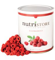Nutristore Freeze Dried Raspberries, 200 g