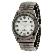 Globlu Mens Gun Metal Expansion Analog Watch