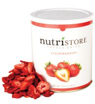 Freeze Dried Strawberries – Nutristore #10 Can