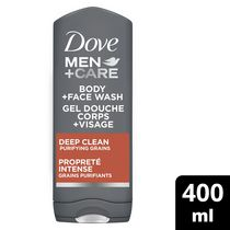 Dove Men +Care®  Propreté intense Gel douche corps et visage