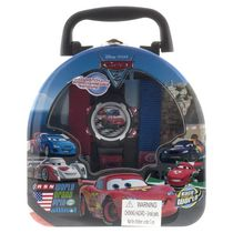Disney Cars Boys LCD Watch Gift Set