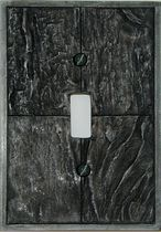 Atron Electro Industries Slate Look Toggle Wall Plate