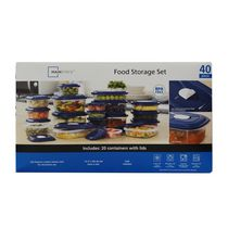 Mainstays 40-Piece Food Storage Box Set