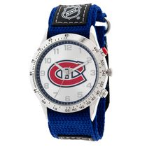 NHL Montreal Canadiens Fastwrap Strap Analog Watch